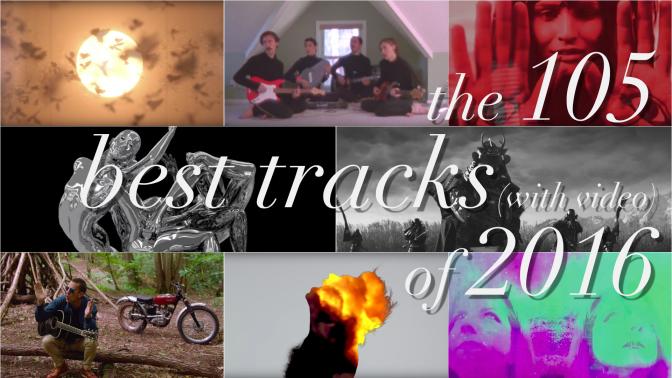 Las 105 mejores canciones (con video) del 2016